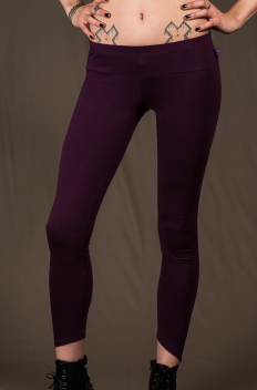 P36 - Legg'in in Cotton-lycra with down bevel cut