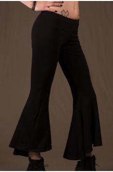 P34 - Legg'in 3/4 long in Cotton-lycra with flared cut