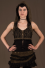 Bolero Hood Micro-fibers with Lace Backless and Brass sides Buckles