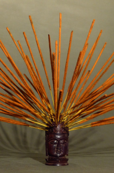 Natural incense POONAM - Saffron & Amber