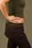 SK2 - Mini-jupe en Coton-lycra avec froissé